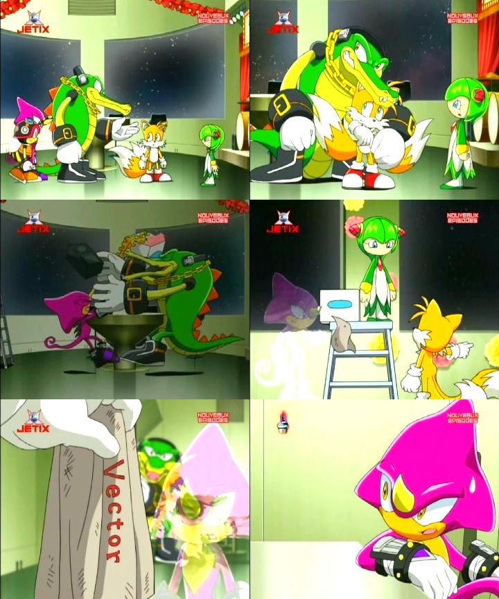 Vector The Crocodile Sonic X